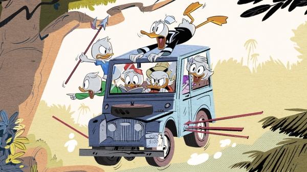 Opening credits 'Ducktales'-reboot!