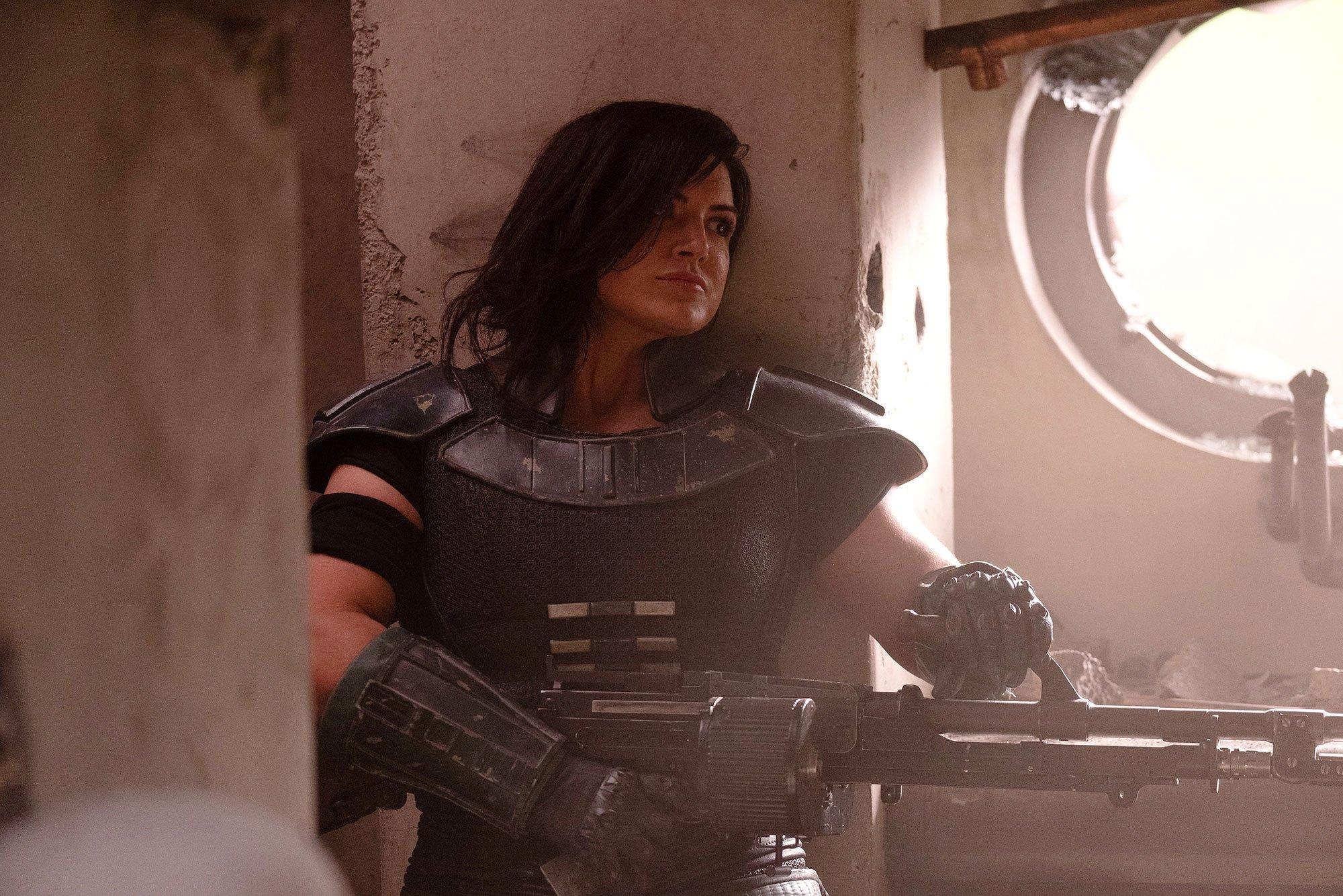 'The Mandalorian' ontslaat actrice Gina Carano op staande voet - SerieTotaal
