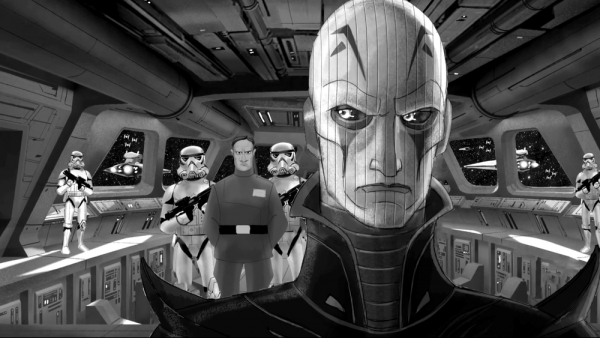 Nieuw artwork 'Star Wars Rebels'