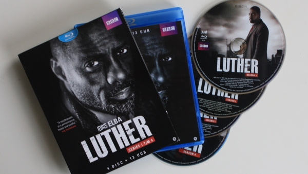 Blu-ray review: 'Luther' seizoen 1-4