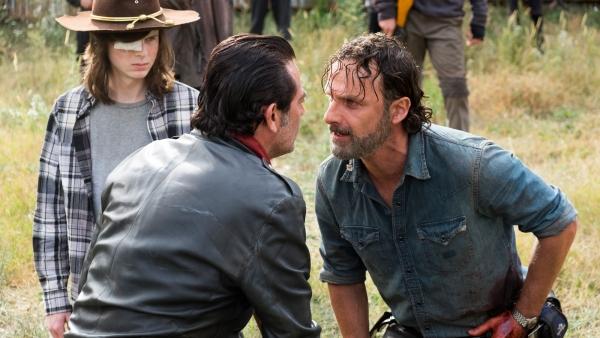 Rick de volgende dode in 'The Walking Dead'?
