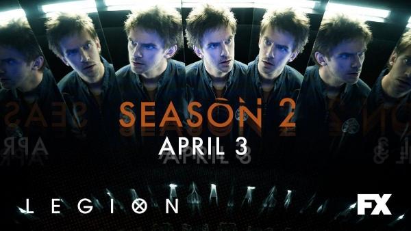 Trippy foto en synopsis Legion seizoen 2