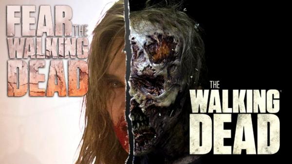 'The Walking Dead' en 'Fear' overlappen