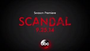 Teaser 'Scandal' seizoen 4