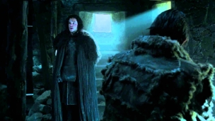 Game of Thrones: Jon Snow and Mance Rayder