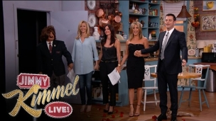 Friends reunie Jimmy Kimmel Live