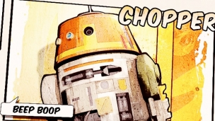 Star Wars Rebels - Introducing Chopper